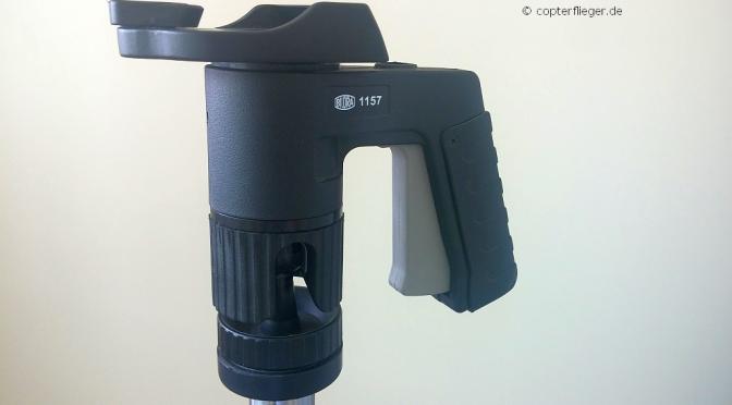 Optimale Halterung für FPV-Monitore: Bilora 1157 Pistolengriff