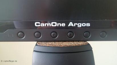 CamOne Argos auf einer Stativ-Halterung