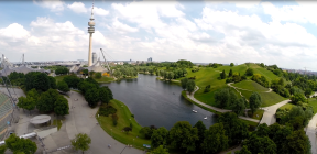 München: Olympiasee & -turm