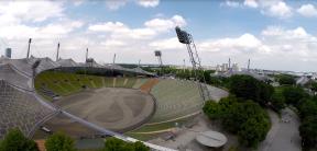 München: Blick ins Olympiastadion