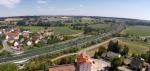 DB Bahntrasse voraus