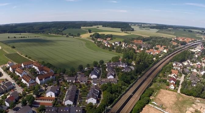 FPV Flug in Petershausen