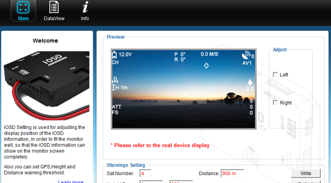 DJI iOSD Mini Setup: Alle Einstellungen erklärt