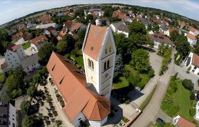 Kirche in Petershausen