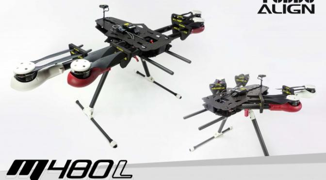 Quadrocopter Bausätze zwischen 400 und 1.500 Euro