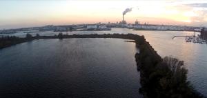 Blick aus 50m Höhe Richtung Amsterdam Sued