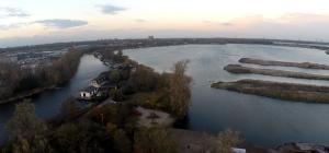 Im Hintergrund liegen Zandaam & Sloterdijk, größere Wohngebiete