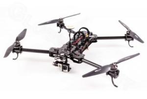 Blacksnapper Quadrocopter inkl. Gimbal und Naza-V2