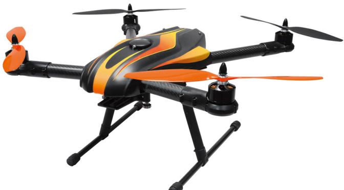 TTRobotix X650: Baukasten Quadrocopter ab 849 EUR