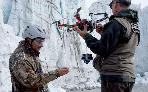 Weltweit erste 360° Arktis Doku mit Hilfe von Dronen