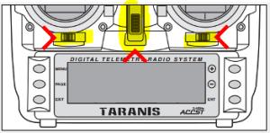 Bootloader-Modus: Trigger nach innen drücken und einschalten