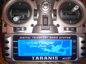 Taranis Splash Screen
