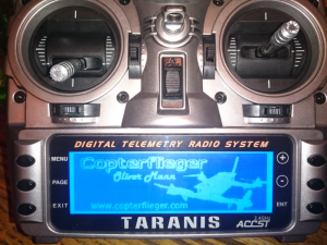 Taranis Splash Screen