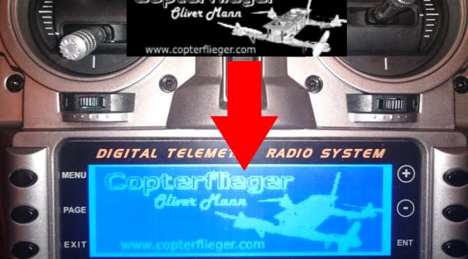 Taranis: Eigene Sounds & Startbild erstellen