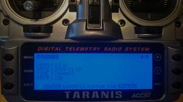 Taranis Firmware Version nach flashen