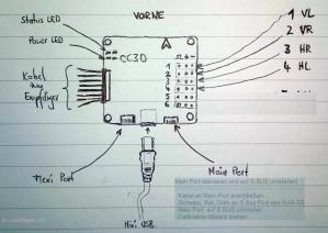 CC3D Anschlussplan