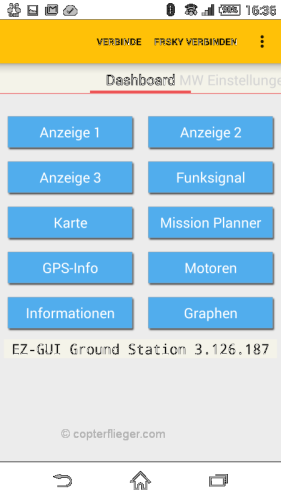 EZ-Gui Dashboard