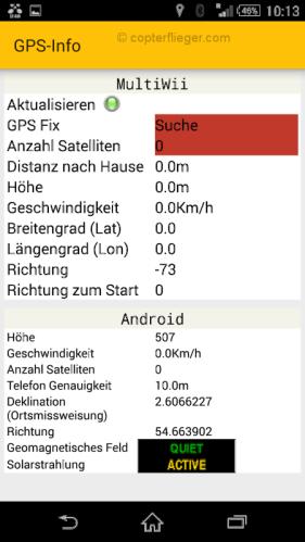 EZ-Gui GPS-Info