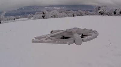 Millenium Falcon Quadcopter