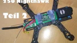 Mini Quadrocopter Nighthawk 250