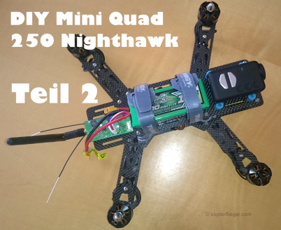 Mini Quadrocopter Nighthawk 250