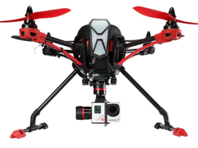 Nova X350 mit GoPro Kamera