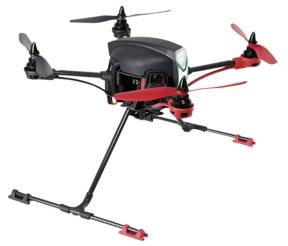 Nova X350 mit langen Landebeinen