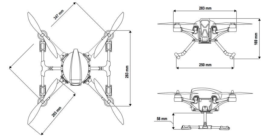 Maße Nova X350