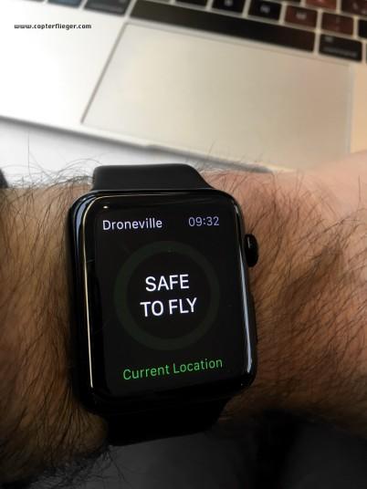 Droneville Apple Watch