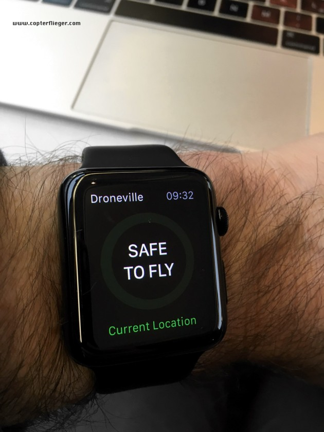 Droneville Apple Watch
