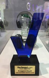 CES 2016: Award für die Glyph