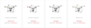 ab sofort günstiger: Phantom 3 Modelle