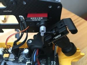 MR25: Gimbal der FPV-Cam