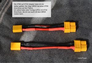 XT60 auf XT30 Adapter