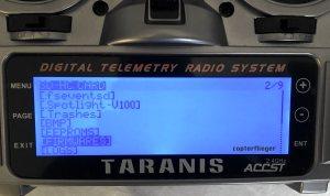 SD-Verzeichnis der Taranis