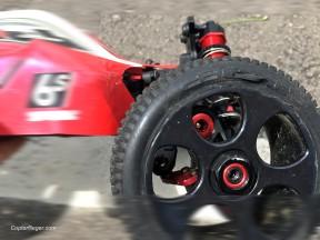 Der Reifen hat was abgekriegt