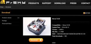 Eine erste Kurzanleitung stellt FrSky bereits zum Download zur Verfügung