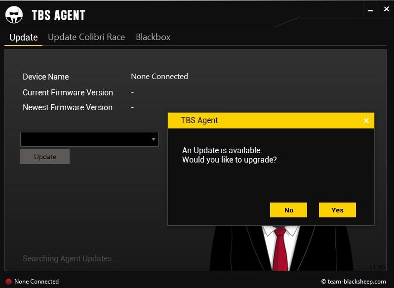 TBS Agent aktualisiert die Inhalte
